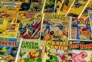 Assorted Old Comics by DC Circa late 1950s
